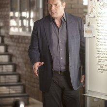 Castle: Nathan Fillion nell'episodio Kill Shot