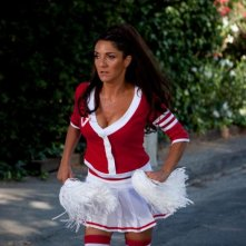 Hollywoo: Florence Foresti vestita da cheerleader