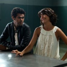 Hollywoo: Jamel Debbouze con Florence Foresti in una scena del film
