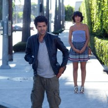 Hollywoo: Jamel Debbouze e Florence Foresti in una scena del film