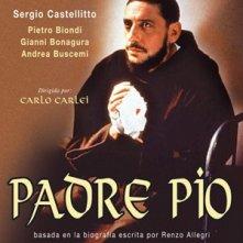 Padre Pio - locandina della fiction televisiva con Castellitto.
