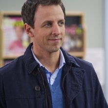 Capodanno a New York:  Seth Meyers in una scena
