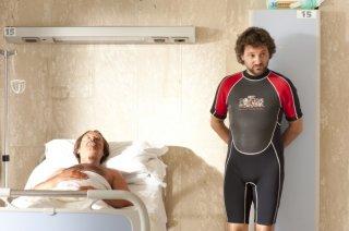 Leonardo Pieraccioni e Rocco Papaleo in una scena di Finalmente la felicità