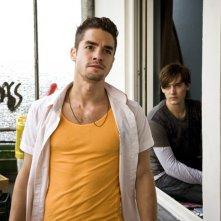 Maximilian Befort e Rick Okon (alle sue spalle) in Romeos