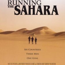 Running the Sahara: la locandina del film