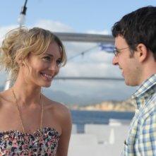 Finalmente maggiorenni: Laura Haddock e Simon Bird in una scena del film