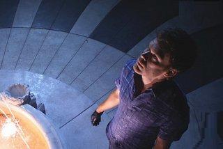 Michael C. Hall in una scena dell'episodio Talk to the Hand