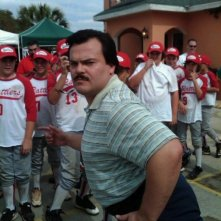 Jack Black in una scena del film Bernie