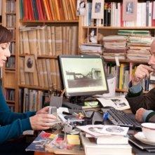 La chiave di Sara: Kristin Scott Thomas in una scena del film insieme a Michel Duchaussoy