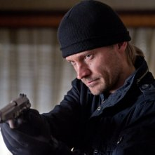 Nikolaj Coster-Waldau in un'immagine tratta dal film action Headhunters