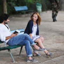 Switch: Karine Vanasse in una scena del film insieme a Bruno Todeschini