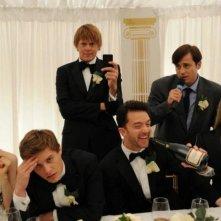Tre uomini e una pecora: lo sposo disperato durante il discorso di nozze del suo testimone