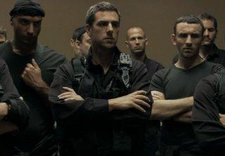 Una scena tratta dal film Policeman