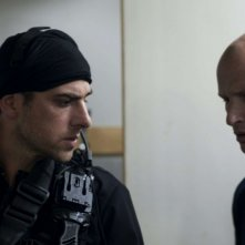 Yiftach Klein in una scena tratta dal film Policeman