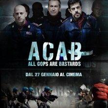 A.C.A.B., una locandina del film
