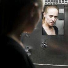 Alba Ribas in un'inquetante duplice immagine di Paranormal Xperience 3D