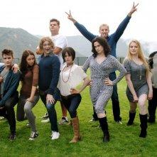 Succhiami: il cast del film in una foto promozionale