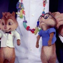 Alvin Superstar 3 - Si salvi chi può!: Alvin e Simon in una divertente scena del film