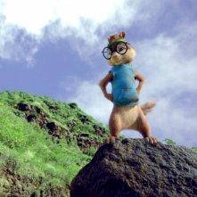 Alvin Superstar 3 - Si salvi chi può!: Simon in versione montanara in un'immagine del film