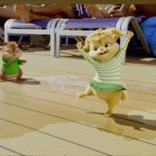 Alvin Superstar 3 - Si salvi chi può!: una scena danzereccia del film