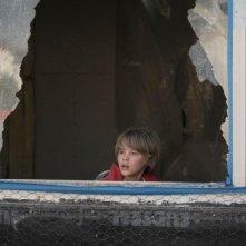 Hesher è stato qui: il piccolo Devin Brochu in una scena del film