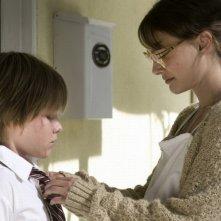 Natalie Portman in un'immagine del film Hesher è stato qui insieme a Devin Brochu