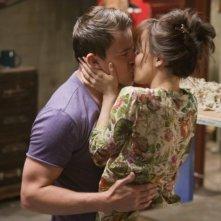 Rachel McAdams e Channing Tatum in una scena d'amore di The Vow