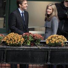 Rachel McAdams insieme a Scott Speedman sul set del film The Vow