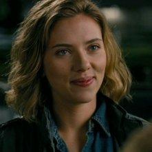Scarlett Johansson in un bel primo piano tratto dal film La mia vita è uno zoo
