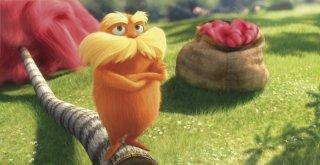 Una colorata immagine tratta dal film di animazione Lorax - Il guardiano della foresta