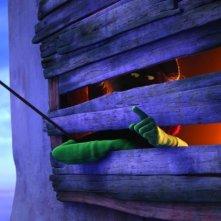 Una delle prime immagini del film d'animazione Lorax - Il guardiano della foresta