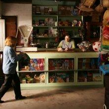 Lia Gama in una scena di Aguasaltaspuntocom - un villaggio nella rete