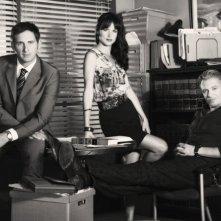 The Firm: Josh Lucas, Juliette Lewis e Callum Keith Rennie in una foto promozionale della serie