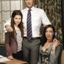 The Firm: Natasha Calis, Josh Lucas e Molly Parker in una foto promozionale