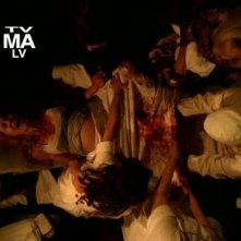 American Horror Story: Connie Britton in una scena drammatica Birth, penultimo episodio della prima stagione