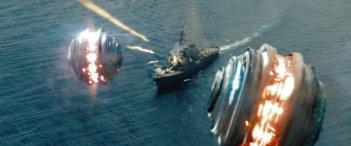 Battleship: un'inquadratura dall'alto tratta dal film di Peter Berg