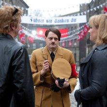 Matthias Schweighöfer nella commedia tedesca Rubbeldiekatz con Detlev Buck e Max Giermann