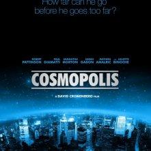 Cosmopolis: ecco la prima locandina