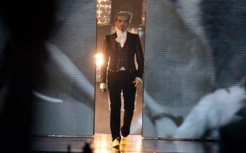 Il look di Morgan nella quinta puntata di X-Factor 5