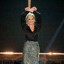 Il look di Simona Ventura nella quinta puntata di X-Factor 5