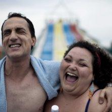 Reality: Aniello Arena e Giuseppina Cervizzi in una scena del film