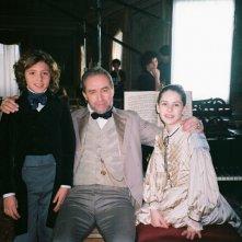 David Copperfield: Patricia Varvari, Christian Frasacco e Pavel Rímský sul set