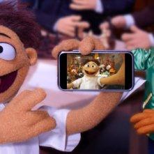 I Muppet: Walter e Scooter in una scena del film