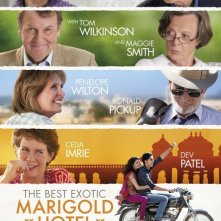 The Best Exotic Marigold Hotel: nuovo poster