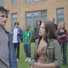 Heather Ann Davis insieme ad Eric Callero protagonisti di Succhiami nei panni di Bella ed Edward