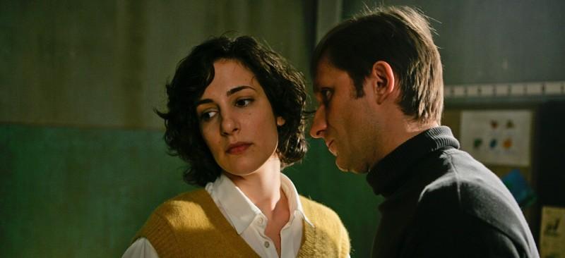 In the Land of Blood and Honey: Zana Marjanovic e Goran Kostic in una scena