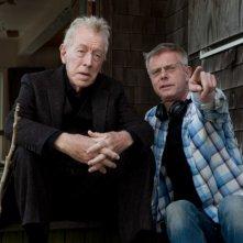 Molto forte, incredibilmente vicino: Max von Sydow insieme al regista Stephen Daldry sul set del film