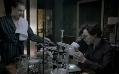 Promo Stagione 2 'Run rocks shelter' - Sherlock