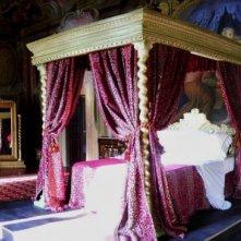 La Figlia di Elisa Ritorno a Rivombrosa - scenografia letto Lucrezia Van Necker realizzata da Giuseppe Pirrotta