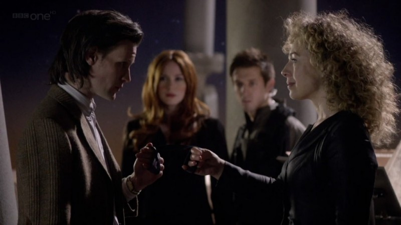 Doctor Who Matt Smith Ed Alex Kingston Nell Episodio The Wedding Of River Song 227408